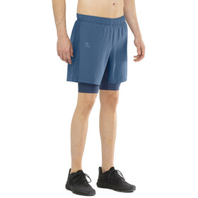 Salomon Agile Short Twinskin Homme, dark denim